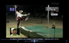 1mの大ジャンプ成功!